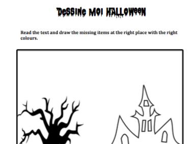 Dessine moi Halloween (Toussaint)