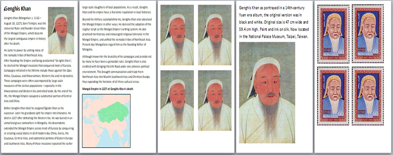 Genghis Khan Activity Pack