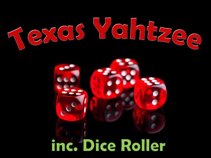 Texas Yahtzee - Probability Class Game (inc. Dice Roller)