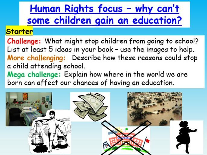 Human Rights : Education