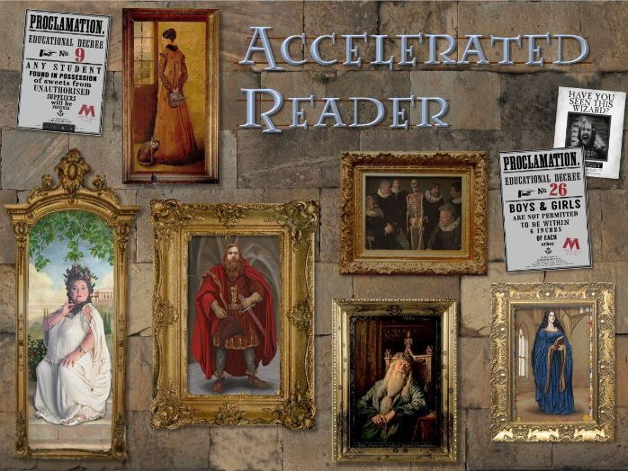 Hogwarts/Harry Potter themed Accelerated Reader PowerPoint