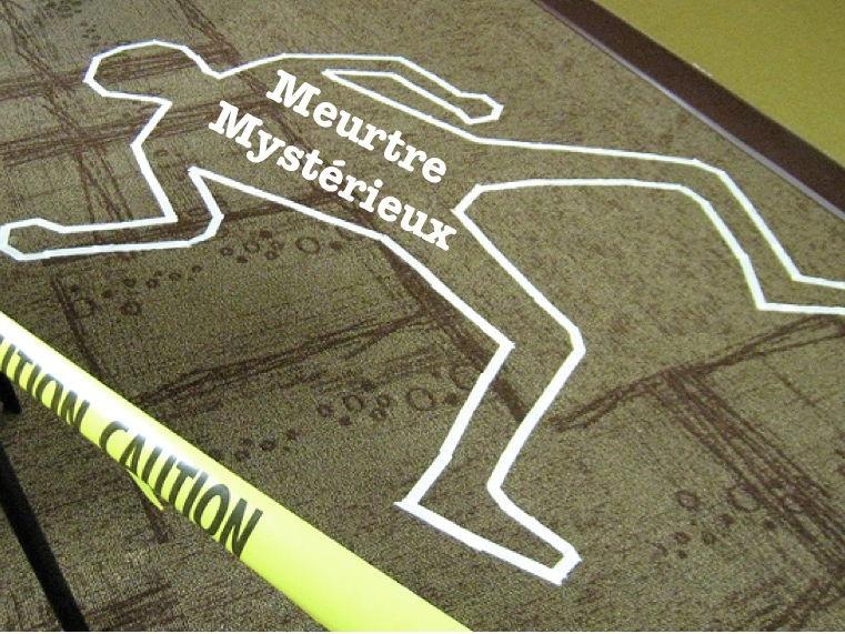 French Perfect Tense Murder Mystery (passé composé)