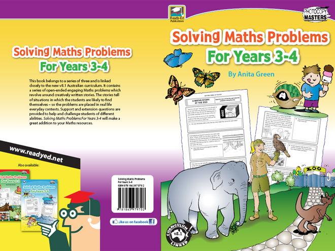 Solving Maths Problems for Years 3 - 4 (Australian E-book)