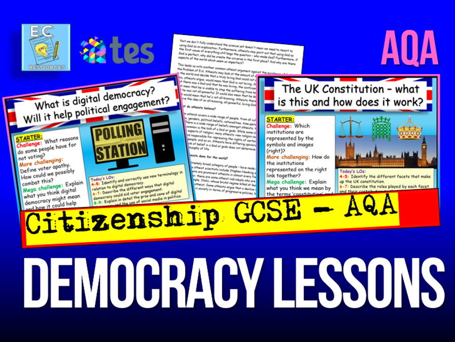 Democracy GCSE Citizenship AQA