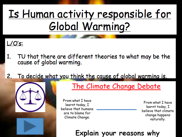 Lesson 2: Is Global Warming real?