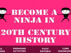 20th Century History Lessons and KS3 Resources Bundle 1
