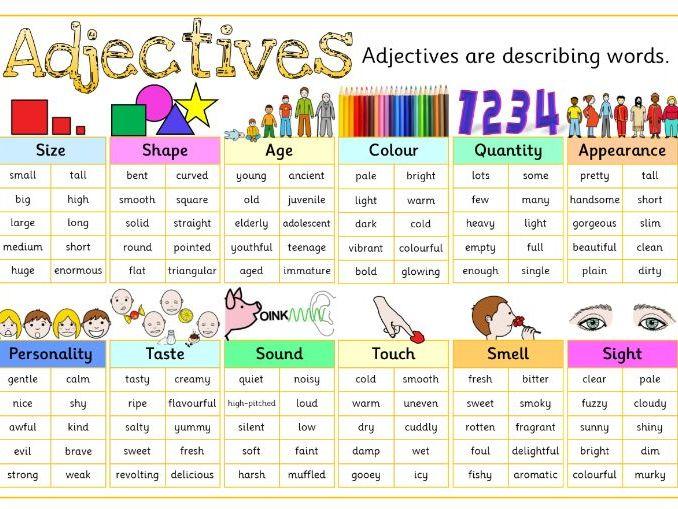 Adjectives Mats