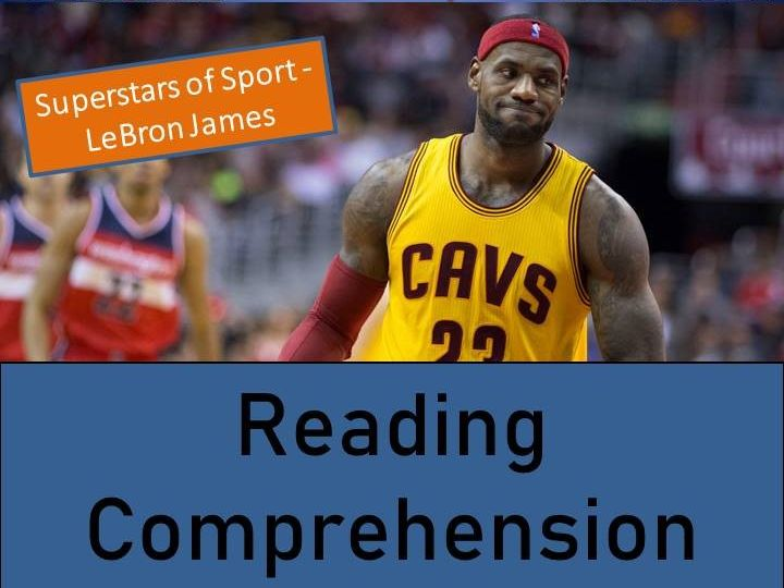 LeBron James Reading Comprehension Activity