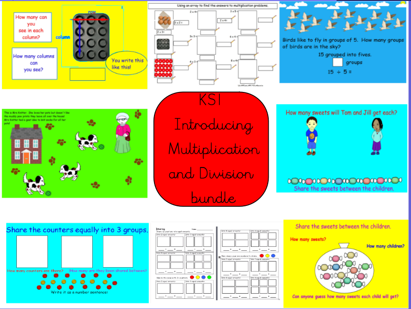 KS1 Introducing Multiplication and Introducing Division
