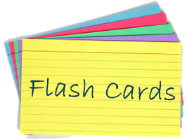 GCSE Computing Revision Flash Cards - Storage