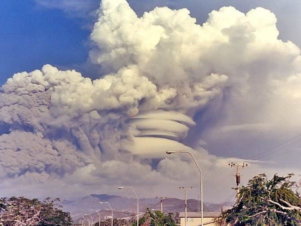 A Level; volcano case study - Mount Pinatubo, Philippines 1991