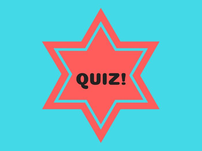 End of Term quiz