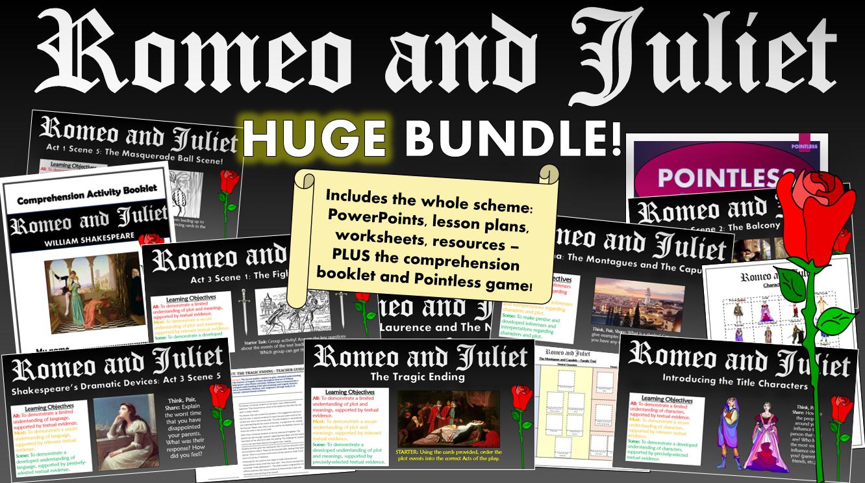 Romeo and Juliet Huge Bundle!
