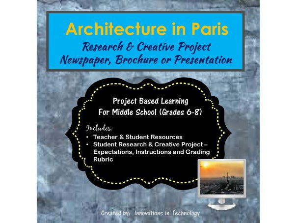 Architectural Landmarks in Paris - Research & Creative Technology Project