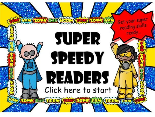 100 High frequency words superhero game perfect for Phonics or Guided reading