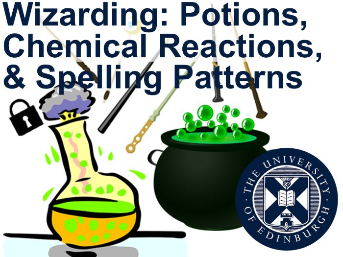 Wizarding: Potions, Chemical Reactions, & Spelling Patterns