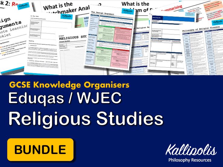 GCSE Eduqas & WJEC Religious Studies Knowledge Organisers - Revision Pack