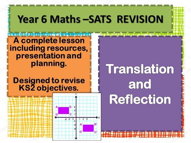 COMPLETE REVISION LESSON    TRANSLATION AND REFLECTION