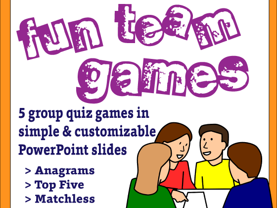Team Quiz Games Bundle - Great as Time Fillers!