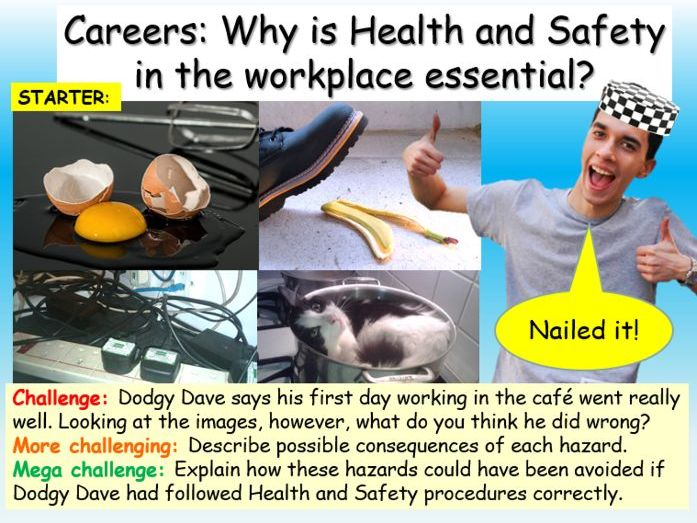 Careers : Health + Safety