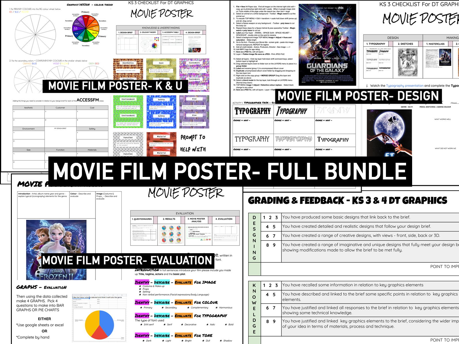 ADVERTISING | Research, Design & Evaluation | FILM POSTER