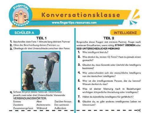 Intelligenz - German Speaking Activity