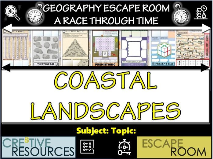 Coastal Landscapes - Geography Escape Room