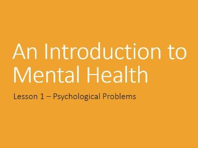 AQA GCSE Psychology - Psychological Problems (Introduction to Mental Health)