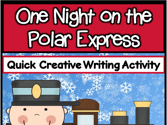 One Night on the Polar Express Writing Activity