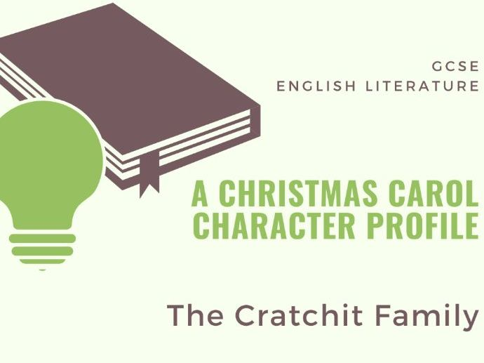 A Christmas Carol - Cratchit Family Character Profile