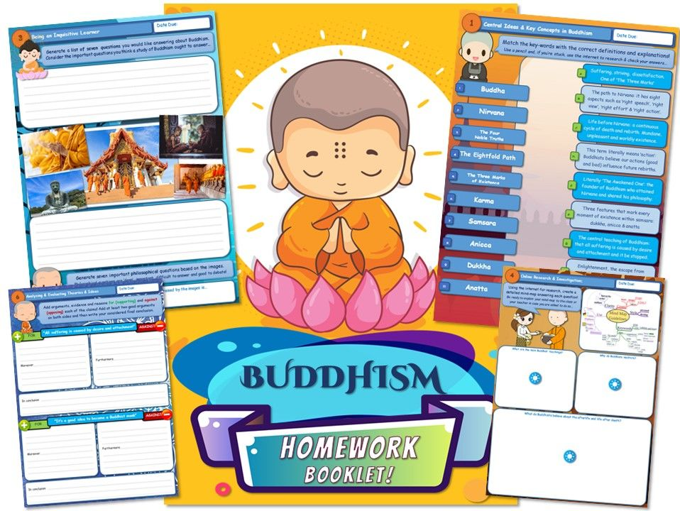 KS3 Buddhism Homework Booklet