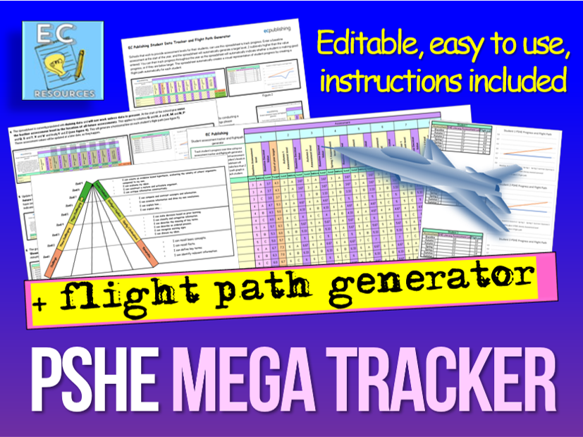 PSHE Assessment Tracker + Flightpath Generator KS3-KS4
