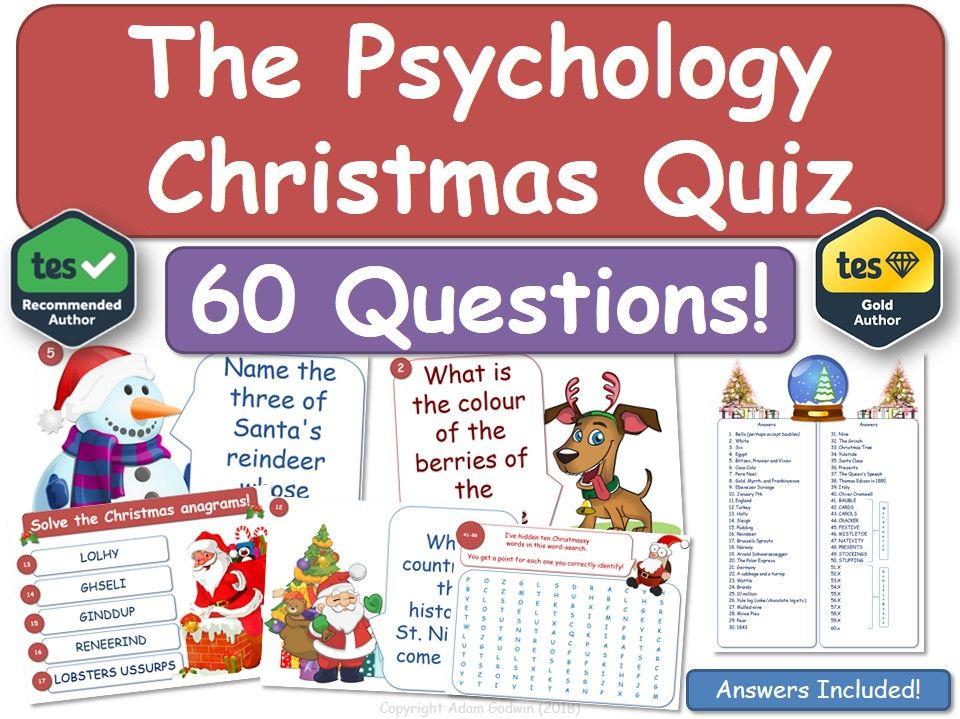 Psychology Christmas Quiz!