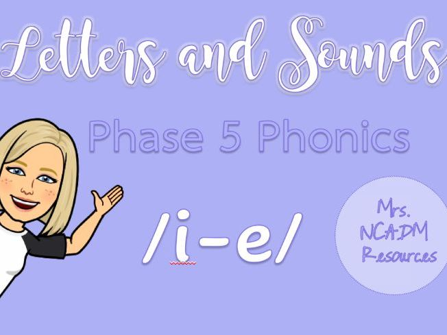 Phase 5a Phonics /i-e/ resource pack (Letters & Sounds)
