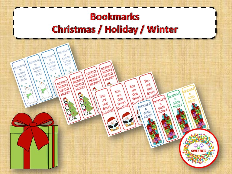 Christmas and Holiday Bookmarks