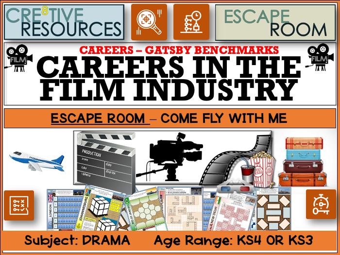 Careers in Film - Escape Room