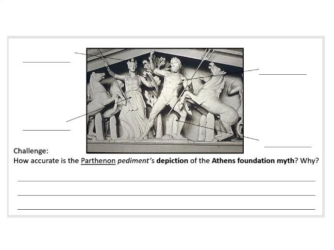2 lessons: How was Athens founded? &; How is the Athens foundation story represented in art?