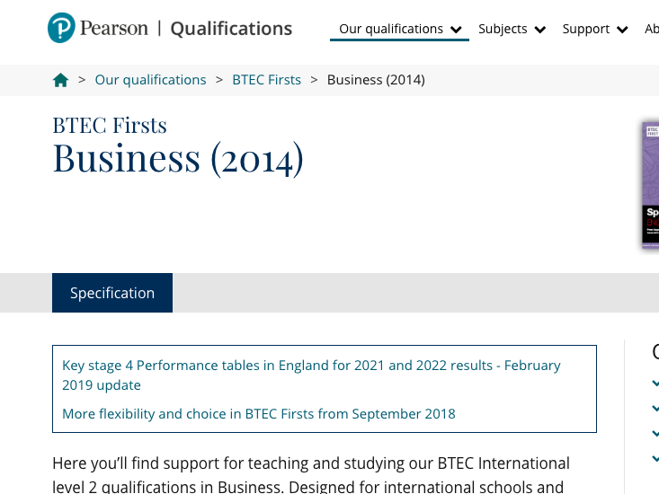 BTEC BUSINESS LEVEL 2 UNIT 1 D*2 LEVEL