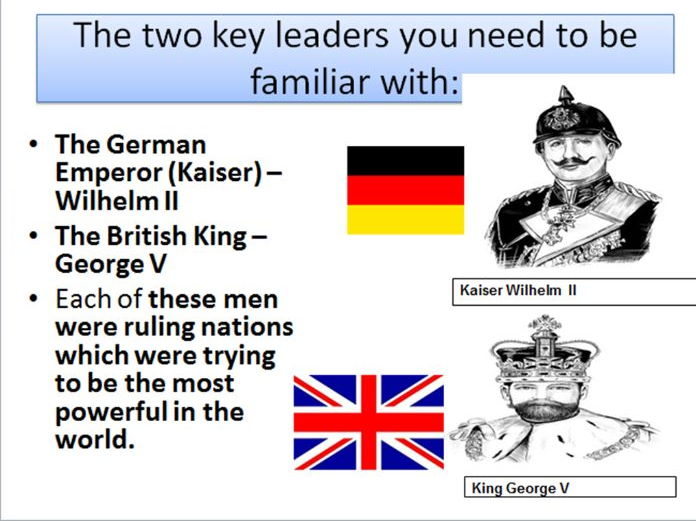 World War One lesson Alliances