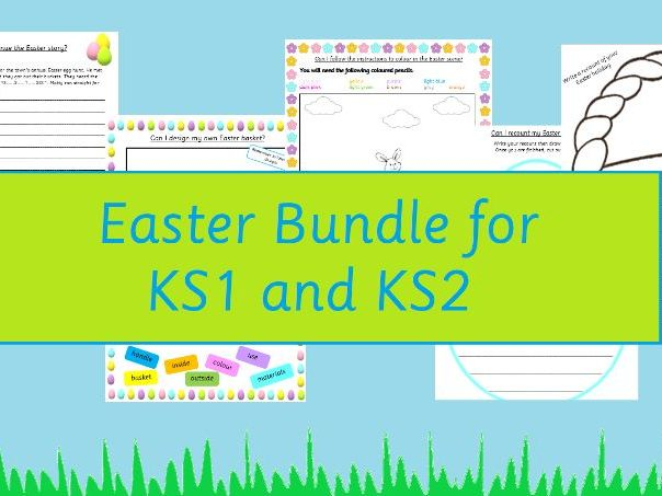 Easter Complete the Story KS1 and KS2