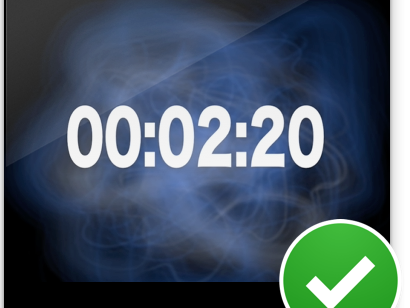 2.5 minute timer
