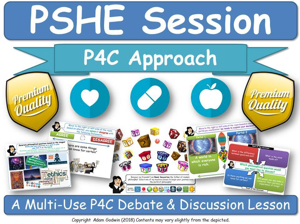 Moral & Spiritual Development - PSHE [P4C Session] (PSHE, P4C, Ethics, Ethical) (PSE, SPHE, PSED)