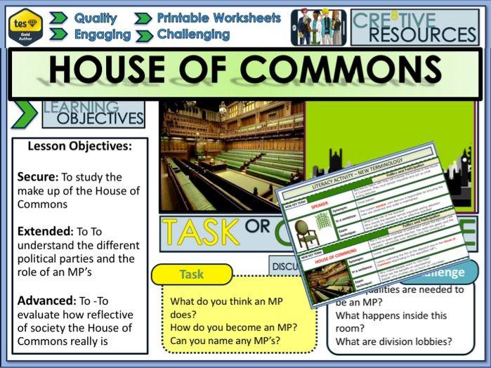 House of Commons + Politics