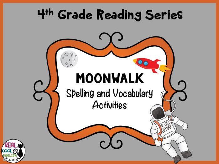 Reading Street Spelling and Vocabulary Activities Moonwalk
