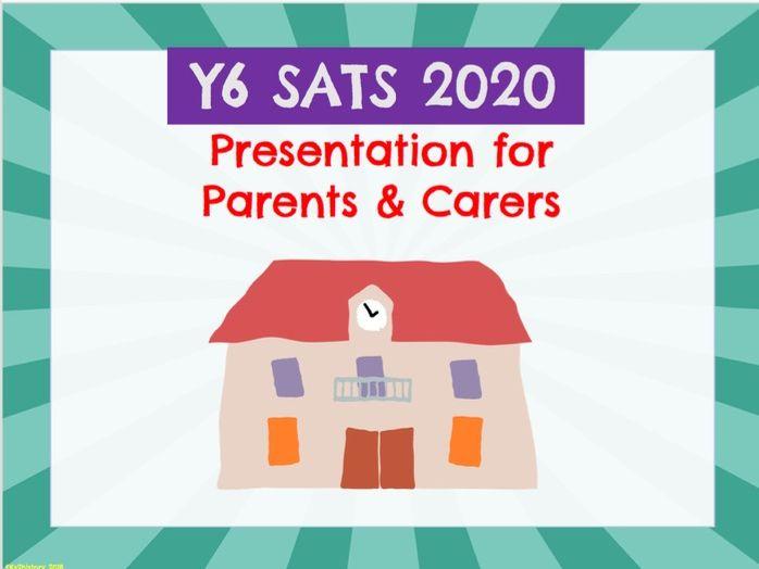 SATS Presentation: Parent Meeting (Y6)
