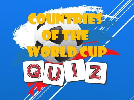 Tutor Time: Football: World Cup 2018: Countries Quiz