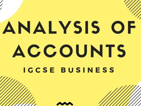 5.5-Analysis-of-Accounts IGCSE Business Studies