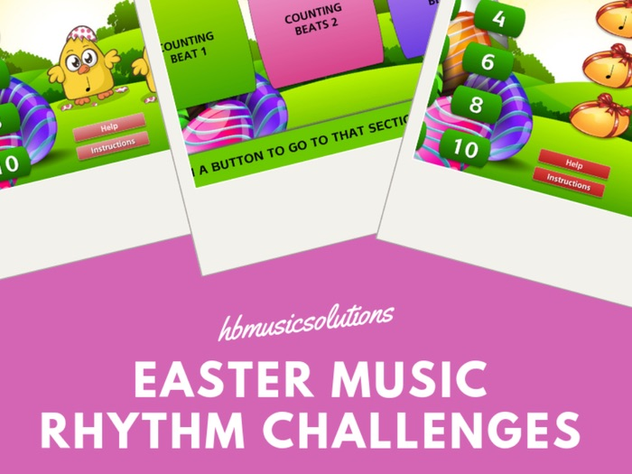 Music Easter Rhythm Challenges - Interactive Games
