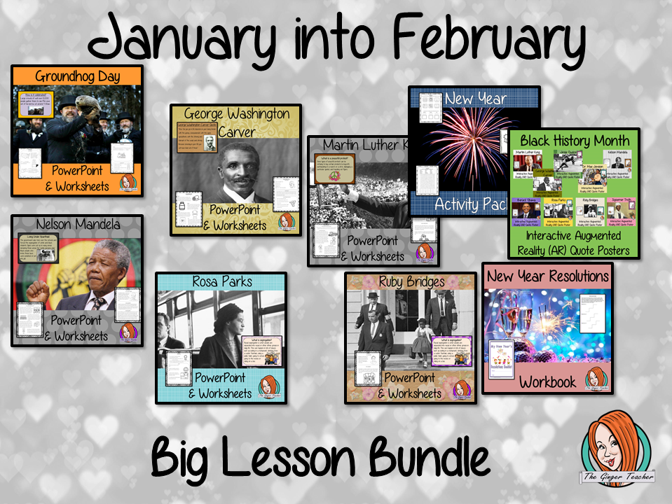 January into February Seasonal Products Bundle
