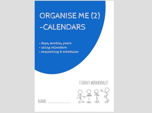 ORGANISE ME (2) - USING CALENDARS